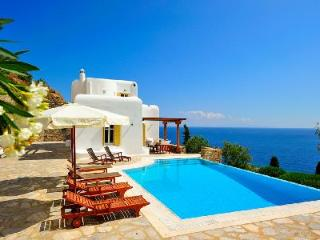 Perched above the bay, Ilios offers sublime sea views, modern décor & infinity pool - Mykonos vacation rentals