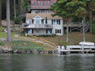 See the Stars at Night on Spindle Point on Lake Winnipesaukee (SOJ36W) - Meredith vacation rentals