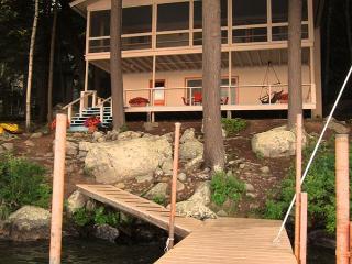 Mid-Century Modern Vacation Rental Cottage on Lake Winnipesaukee (STE16W) - Meredith vacation rentals