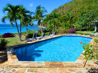 Beach Dreams at Mahoe Bay, Virgin Gorda - Beachfront, Large Fresh Water Pool, Jacuzzi - Virgin Gorda vacation rentals