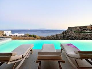 Modern White Rock Two with memorable sea views, tranquil infinity pool, near beach - Mykonos vacation rentals