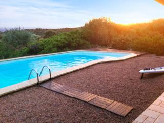 Large, modern villa near the Gulf of Sagone, on Corsica's west coast, w/ swimming pool and sea views - Porticcio vacation rentals