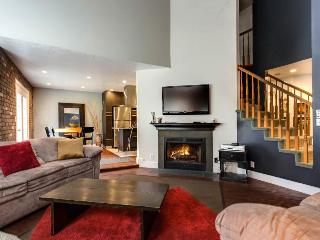 Condo for 12  w/gas fireplace; gourmet kitchen; foosball - Salt Lake City vacation rentals