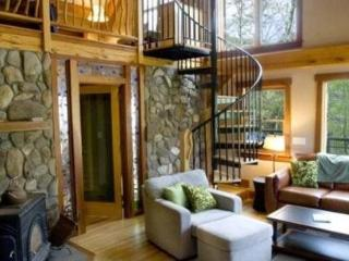Laurel Branch - Less than 15 Minutes from Boating and Fishing on Fontana Lake This Custom Built Rental Is Secluded by Trees and Has a Hot Tub, Easy Access, and Foosball Table - Bryson City vacation rentals
