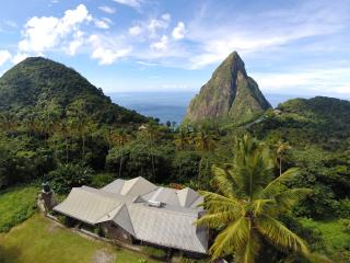 Jaco Pitons | Away-from-it-all with Pitons Views - Soufriere vacation rentals