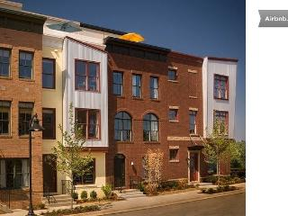 Modern Arts District Townhome with Roofdeck - Hyattsville vacation rentals