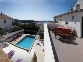 Penthouse in villa with pool - Hvar vacation rentals