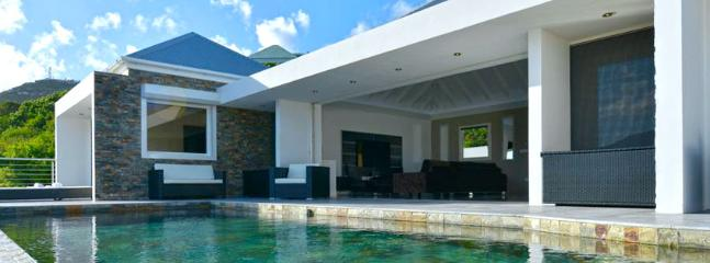 SPECIAL OFFER: St. Barths Villa 72 The Pool And The Very Nice Outdoor Area Overlook Saint Jeans Bay. - World vacation rentals