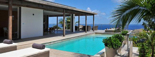 Casa Tigre AVAILABLE CHRISTMAS & NEW YEARS: St. Barths Villa 81 Has An Extraordinary View On The Lagoons Of Petit And Grand Cul-de-Sac. - Vitet vacation rentals