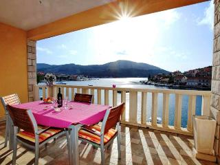 Tina 2 - apartment for 4+2 pax with AC, 10 meters from the sea - Vela Luka vacation rentals