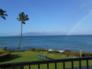 Maui ocean FRONT. 2 Kings. Killer view. Free wi-fi - Lahaina vacation rentals