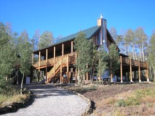 Log Home Luxury-Escape the Heat & Relax - South Central Colorado vacation rentals
