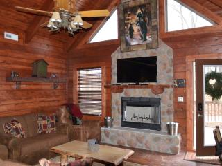 Amazing 3 bed,3 bath cabin hot tub,fireplace,wifi - Ridgedale vacation rentals