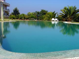 Large apartment with pool and lawned gardens - Olhos de Agua vacation rentals