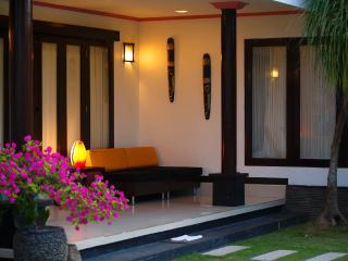 Family beachfront one bedroom villa - Gianyar vacation rentals