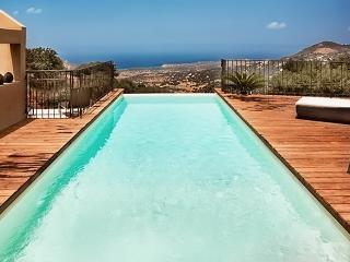 Villa Flora – exceptional house near Calvi, Corsica, with pool and spectacular view - Cateri vacation rentals