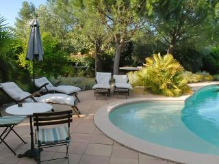 In the heart of the Var, Provence, beautifully appointed stone gite with terrace and pool - Les Mayons vacation rentals