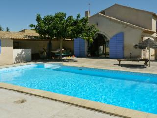 Near Cavaillon, typical Provençal farmhouse with a large garden and a swimming pool - Cheval-Blanc vacation rentals