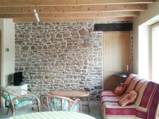 Lovely stone house in the Cotes-d'Armor, Brittany, with 1 bedroom, terrace and garden - Ploubezre vacation rentals