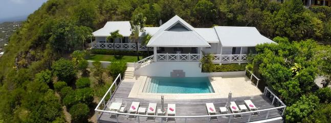 SPECIAL OFFER: St. Barths Villa 79 A Very Private Villa Located On The Hillside Of Vitet With A Clear View Of The Islands In The - Vitet vacation rentals