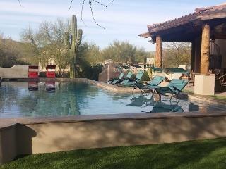 SLEEP 19-ESTATE-HEATED POOL-2 SPAS-OUTSIDE DINING - Scottsdale vacation rentals