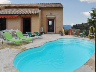 Bright apartment in Barbaggio, Haute-Corse, with swmming pool and stunning view - Bastia vacation rentals