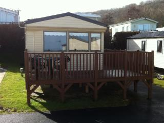 SUPER LUXURY STATIC 8 BERTH CARAVAN - New Quay vacation rentals