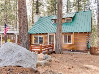 Pet-friendly cabin getaway with a private sauna, hot tub! - Kings Beach vacation rentals