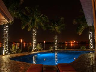 7 bedroom/ 7 bath Waterfront Mansion  private pool - Florida North Central Gulf Coast vacation rentals