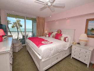 Sand Castle 1-301  Gulf Front Corner Condo with Pool, Spa, BBQ, Sauna & more! - Indian Shores vacation rentals