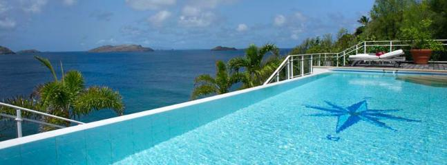 Villa Festival SPECIAL OFFER: St. Barths Villa 94 Enjoy A Delicious Relaxing Time In The Jacuzzi Or The Heated Pool, Facing The  - Pointe Milou vacation rentals