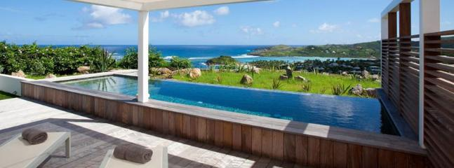 SPECIAL OFFER: St. Barths Villa 97 This Home For Rent In Saint Barthelemy Has A Magnificent View On Marigot Bay And Turtle Island. - Marigot vacation rentals