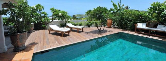 SPECIAL OFFER: St. Barths Villa 103 The View Of The Swimming Pool And The Terrace Gives Onto The Sea And The Tortue Island. - Marigot vacation rentals