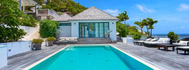 SPECIAL OFFER: St. Barths Villa 107 A Chic Villa Perched On The Hill And Overlooking Marigot Bay. - Marigot vacation rentals