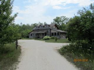 Dovetail Acres Log Home, Private Vacation Paradise - Fish Creek vacation rentals