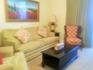 Sleeper sofa - Intimate 2 Bedroom Overlooking Ocean at Sterling Reef - Panama City Beach - rentals