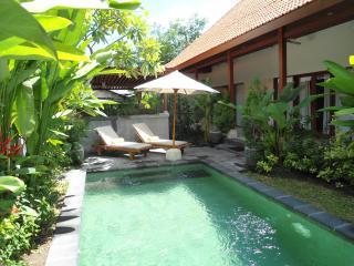 2 bed-bath villa pvte pool - walk to shops & beach - Sanur vacation rentals