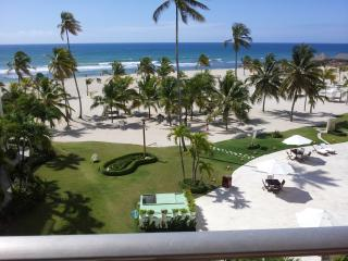 Vacation Beachfront & Caribbean Sea view  Condo - Juan Dolio vacation rentals