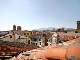 Bright loft inside the wall with panoramic view - Lucca vacation rentals