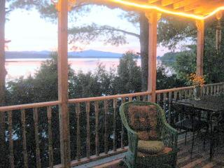 Lake Front Book Filled Escape Hatch - Lake Champlain Valley vacation rentals
