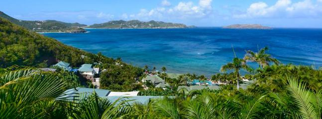 SPECIAL OFFER: St. Barths Villa 108 Perched Above The Ocean With A Panoramic View. - Pointe Milou vacation rentals