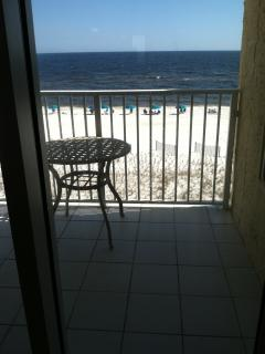 Large Balcony over Beach and Gulf - Fort Walton Beach vacation rentals