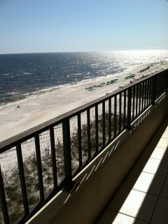 30' Balcony overlooking Beach and Gulf - Fort Walton Beach vacation rentals