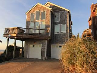 Beautiful Ocean View, 4 Bedroom Home with Hot Tub Located in Roads End! - Oregon Coast vacation rentals