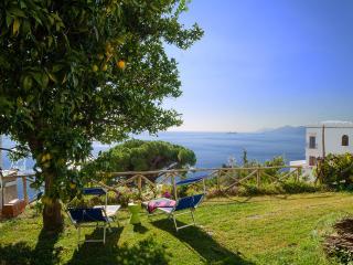 Villa Michara Praiano luxury house garden sea view - Praiano vacation rentals