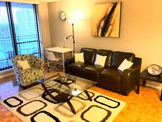 LARGE 2 bed 1.5 bath FURNISHED suite inc cable net - Toronto vacation rentals