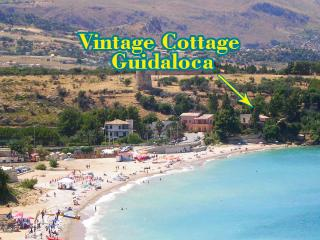Vintage Cottage Guidaloca 10 mt from the sea Wi-fi - Scopello vacation rentals