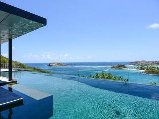Stunning 4 Bedroom Villa with large Infinity Pool in Montjean - Marigot vacation rentals