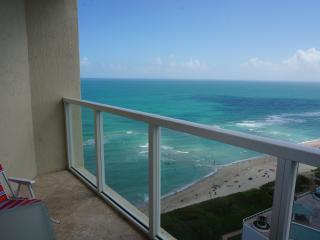 LA PERLA OCEANFRONT ON THE BEACH  2/2 ON 22TH FL - Sunny Isles Beach vacation rentals