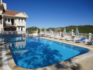 Stunning mountain and village views, large pool - Hisaronu vacation rentals